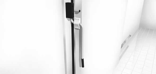 The Frank exterior breaker handle is manufactured from stainless steel and is an excellent option on larger doors. This handle gives you leverage when ...  sc 1 st  Frank Door Company - The Leader in Cold Storage Door Cooler Door ... & Frank Door Company - The Leader in Cold Storage Door Cooler Door ...