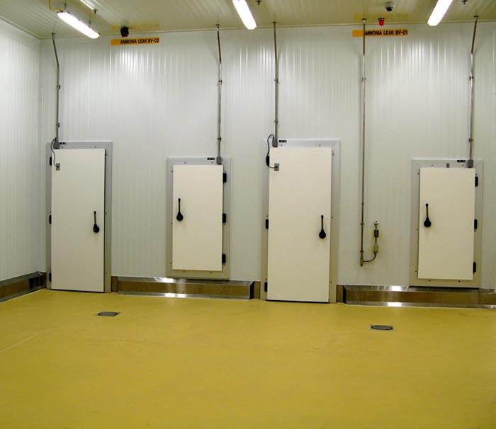 Frank Door Company - The Leader in Cold Storage Door Cooler Door Freezer Door Swing Door and Sliding Door technology. & Frank Door Company - The Leader in Cold Storage Door Cooler Door ... pezcame.com